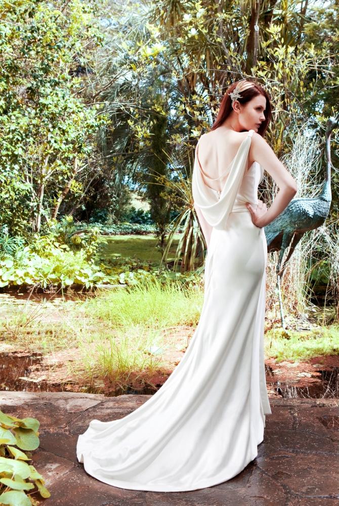Karen Willis Holmes Wedding Dress - Tiffany