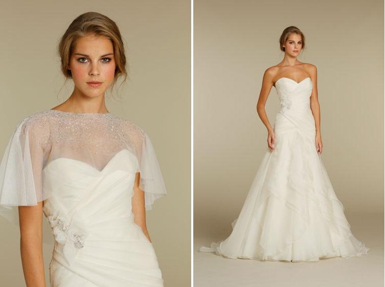 Alvina Valenta 2012 Wedding Dress 9208 Cape