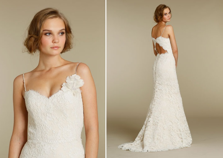 Alvina Valenta 2012 Lace Wedding Dress 9202 Detail