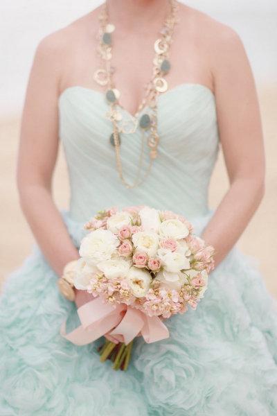 Pastel Pink & Blue Wedding Inspiration Shoot