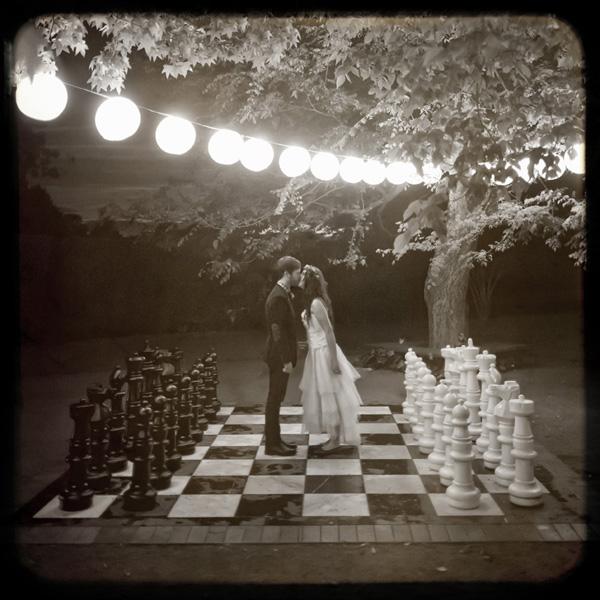 Real Wedding - Karen Willis Holmes Gown + Flower Crown
