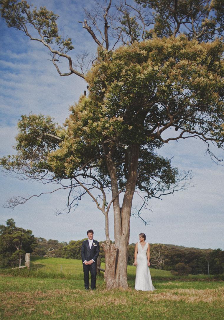 Ryan & Alex Copacabana NSW, Australia Vintage Inspired Bride & Groom
