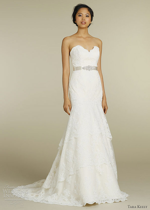 Tara Keely 2012 Lace Wedding Dress 2206 Chic Vintage Brides Chic