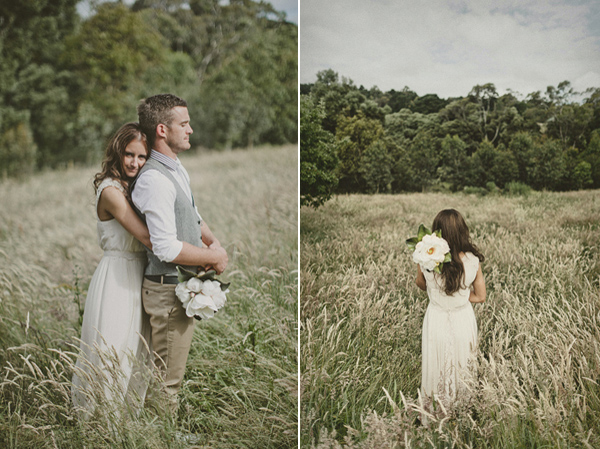 Single Stem Wedding Bouquet
