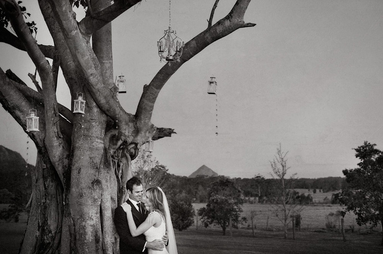 Bride & Groom - Keirra & Chris Noosa Australia Wedding - Studio Impressions