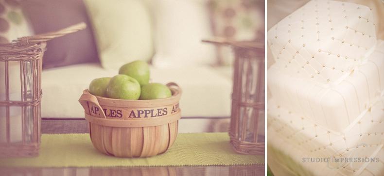 Cake - Keirra & Chris Noosa Australia Shed Wedding - Studio Impressions
