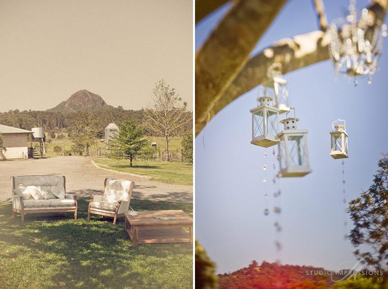 Finishing Touches - Keirra & Chris Noosa Australia Barn Wedding - Studio Impressions