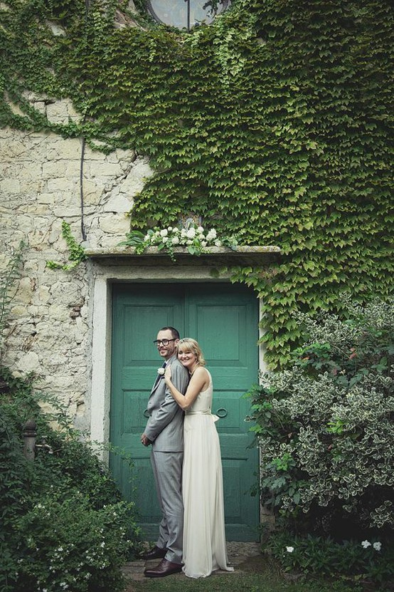Elegant Italy Wedding from LMD featuring a Lisa Ho Wedding Dress