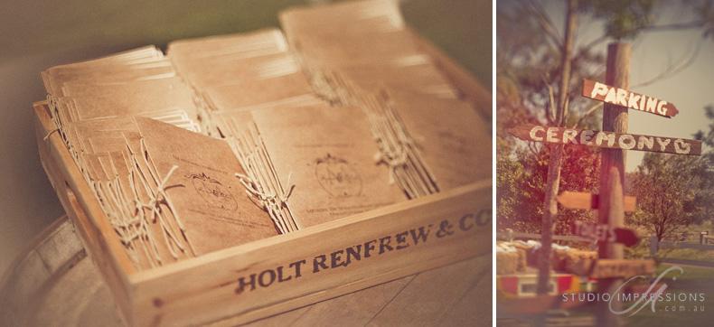 Signs - Keirra & Chris Noosa, Australia Wedding - Studio Impressions