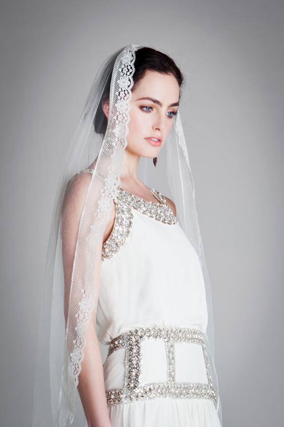 Temperley Ophelia Bridal Collection Emmeline Dress with Veil