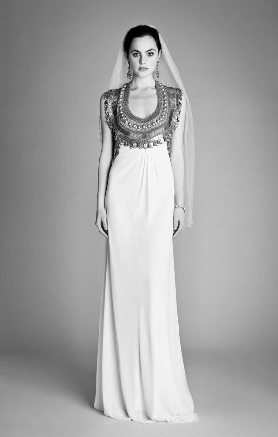 Temperley Ophelia 2012 Bridal Collection Goddess Dress