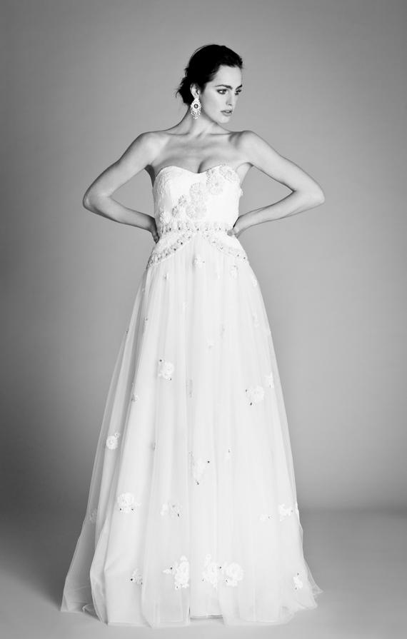 Temperley Ophelia 2012 Bridal Collection Vida Dress