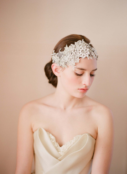 Twigs & Honey 2012 Lace Double Headband Style #239