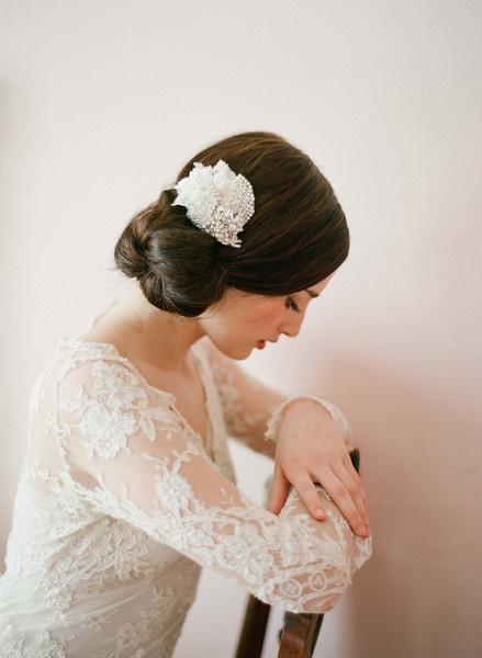 Twigs & Honey 2012 Lace Hair Clip Style #233
