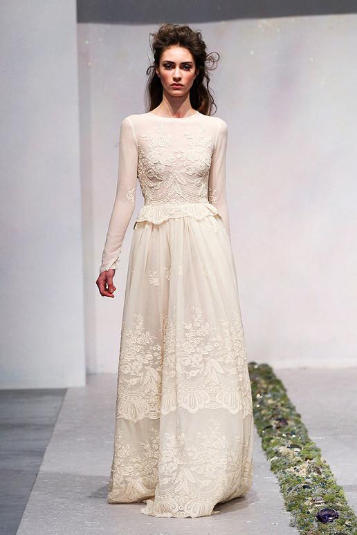 LUISA BECCARIA FALL 2012 RTW Bridal Gown