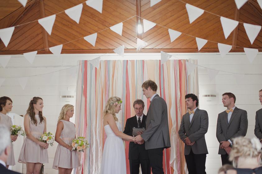 Clare & Simon Snell Beach Wedding by Benjamin & Elise