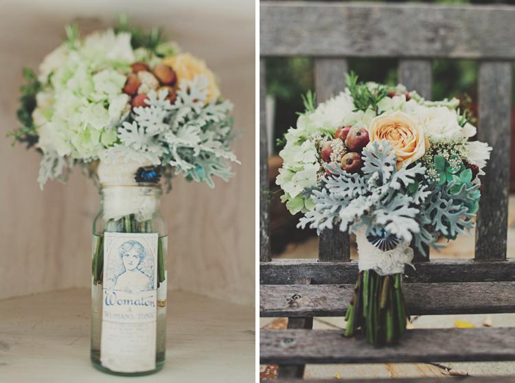 Dreamy Daylesford Lavender Farm Wedding - Bride's Bouquet by Jonathan Ong