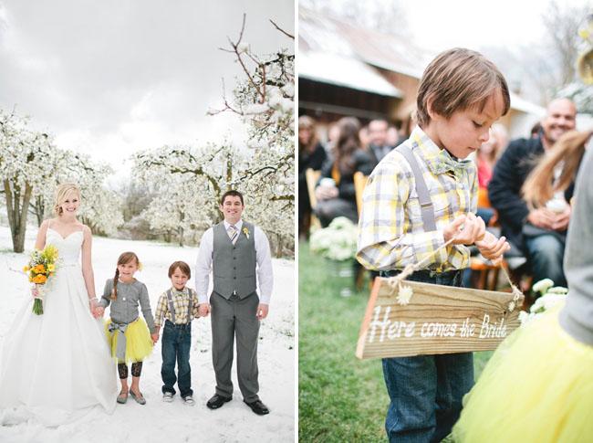 Green Wedding Shoes - Snow wedding