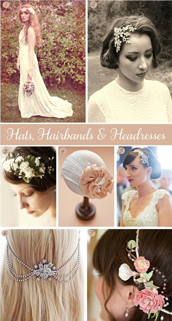 Hats, Hairbands & Headresses Inspiration Board