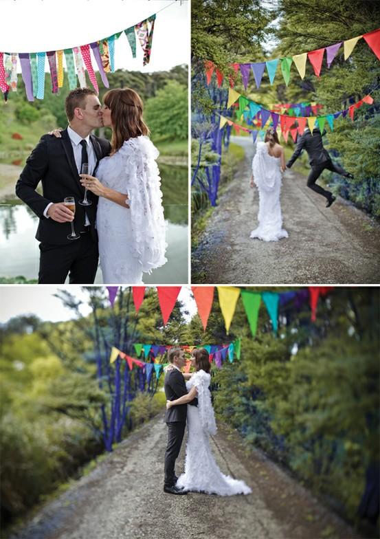 Magnolia Rouge - Rainbow Wedding