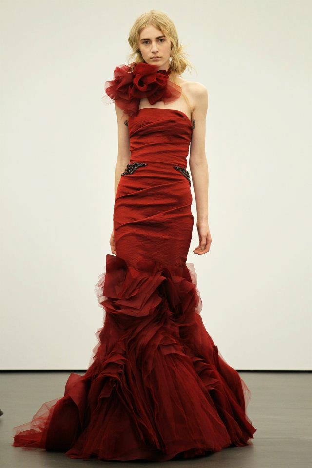 Vera Wang Spring 2013 Bridal Collection