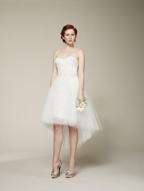 Marchesa 2013 bridal collection chic vintage brides for Wedding dresses asymmetrical hemline