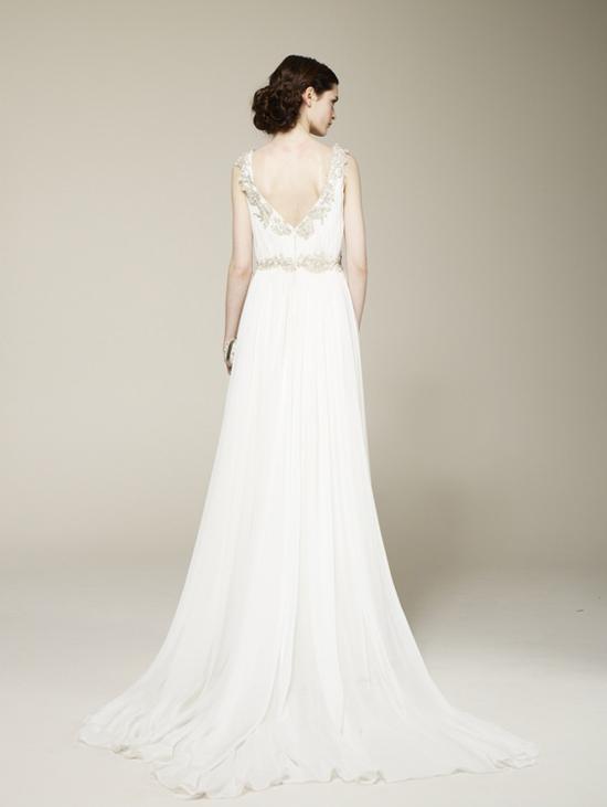 Marchesa Spring 2013 Grecian Wedding Dress Back