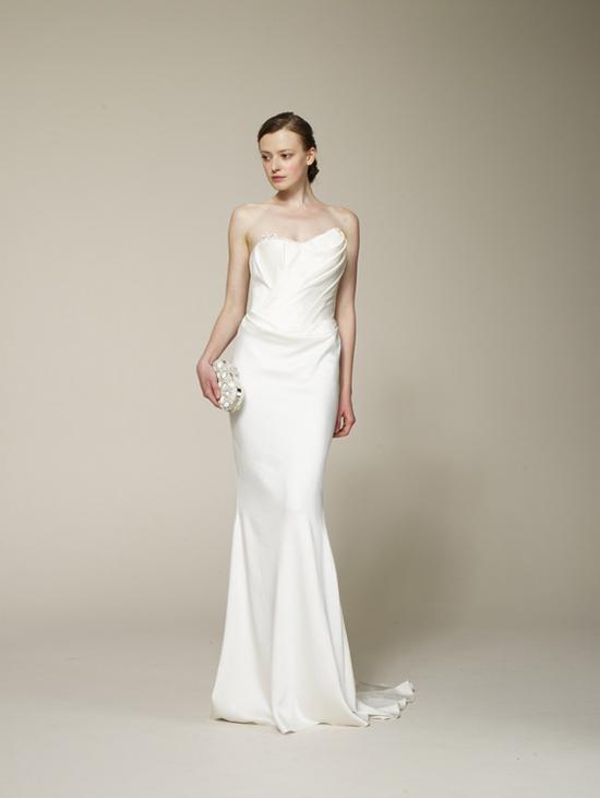 Marchesa Spring 2013 Satin Wedding Dress