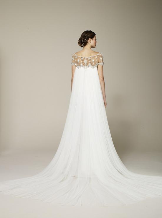 Marchesa Spring 2013 Wedding Dress with Train