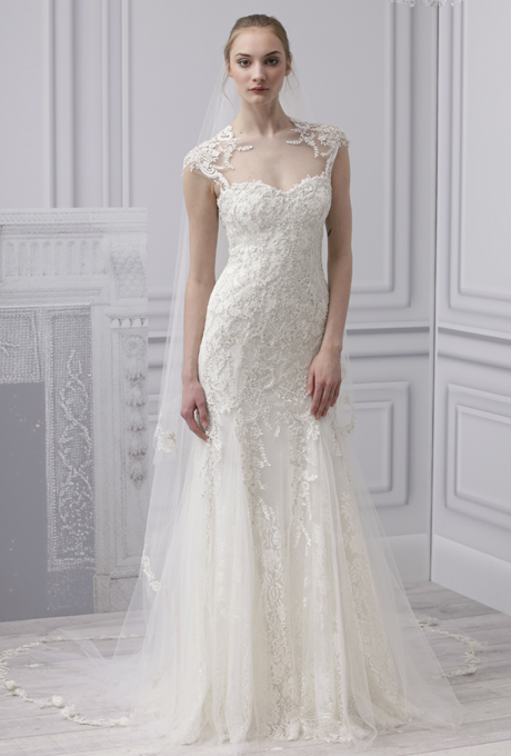 e963598085 Monique Lhuillier s 2013 Bridal Collection   Chic Vintage Brides