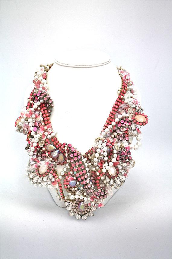 Doloris Petunia Statement necklace