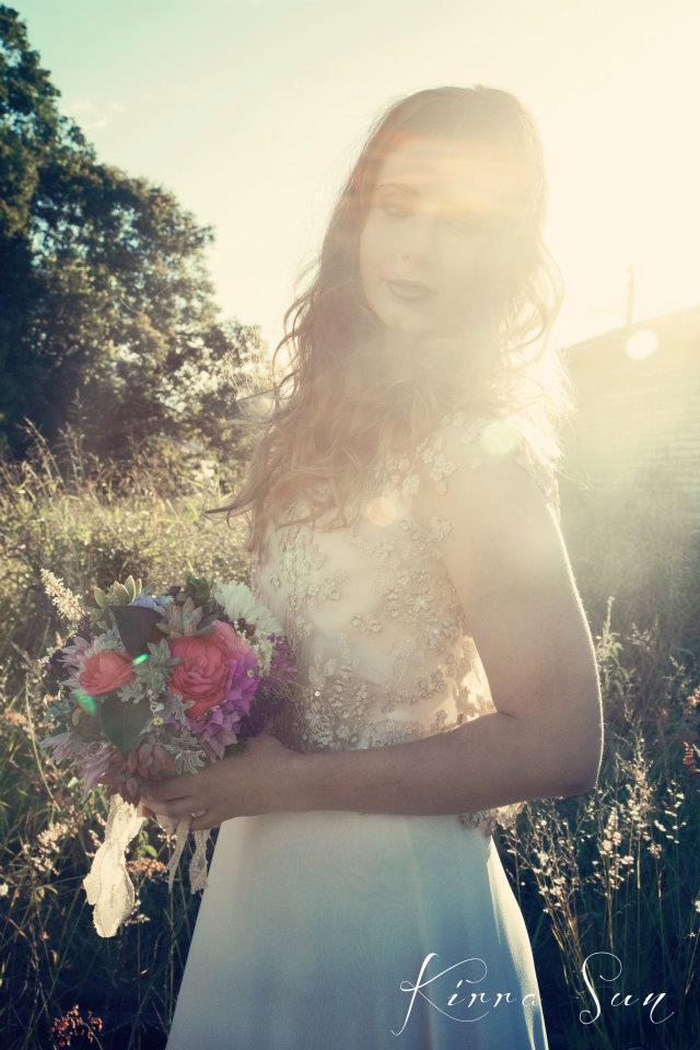 A Beautiful Collaboration by Kirra Sun Photography, Dress by Jennifer Gifford Designs