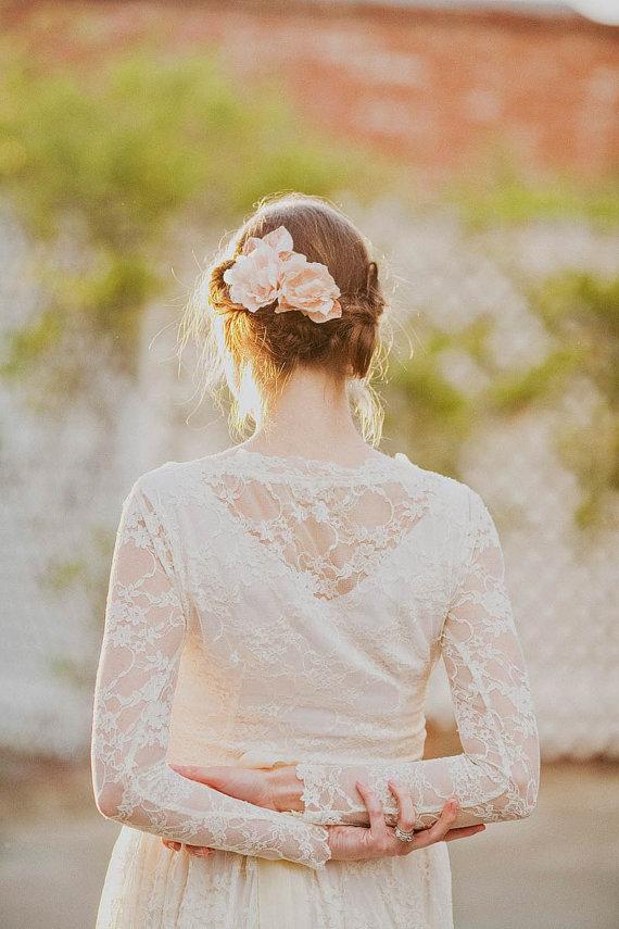 Blush Silk Blossom Set from Mignonne Handmade