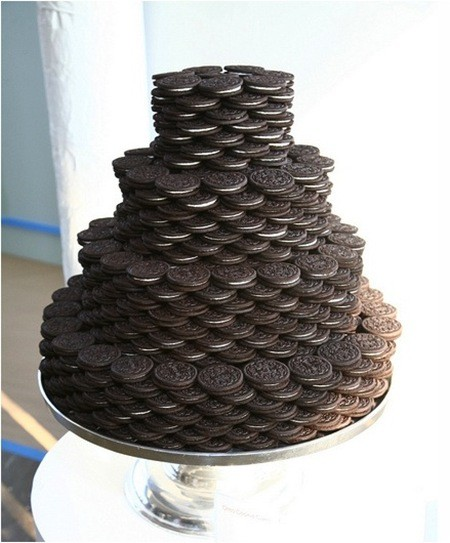 Wedding Oreo Tower