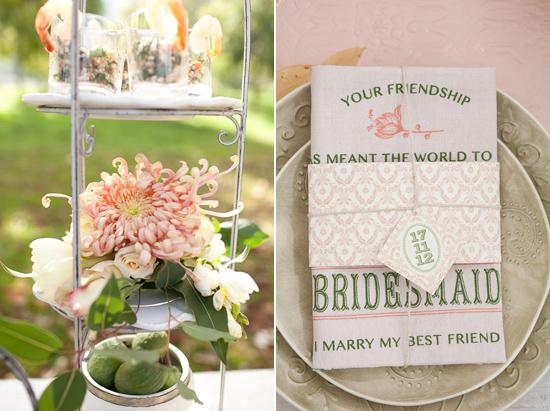 Polka Dot Bride Orchard Bridesmaids Brunch