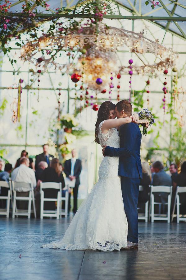 Ruffled New Year's Eve Wedding