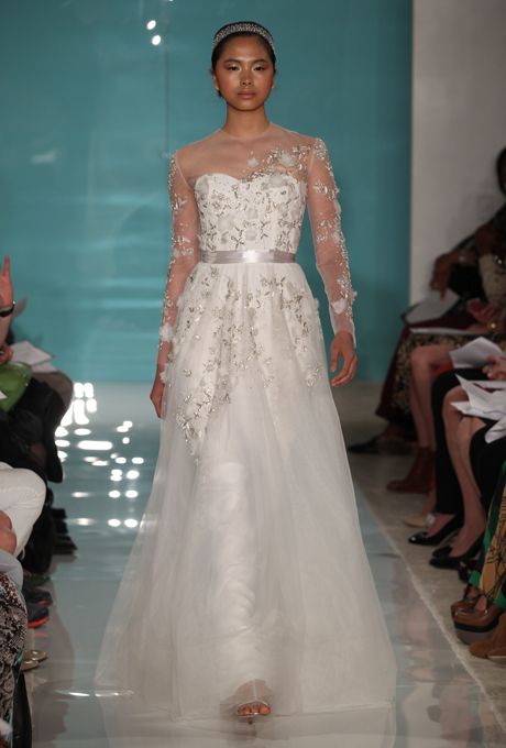 most beautiful long sleeved wedding dresses from the 2013 collections