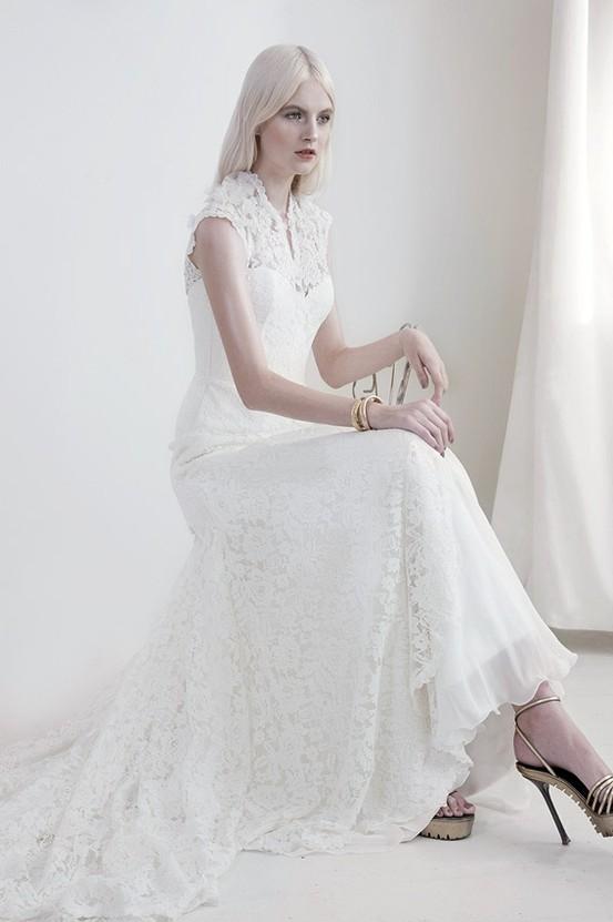 Amaryllis - Mariana Hardwick's Precious Curiosities 2013 Wedding Dress Collection