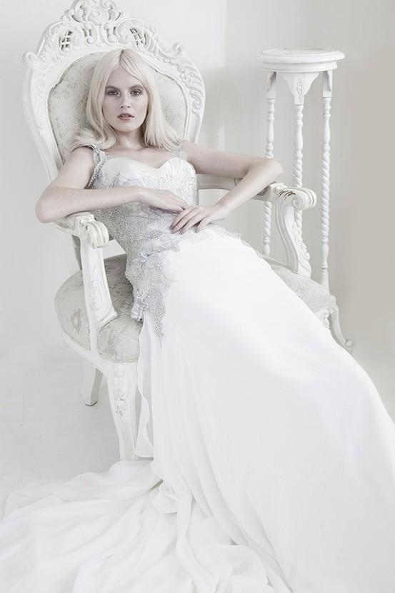 Ames - Mariana Hardwick's Precious Curiosities 2013 Wedding Dress Collection