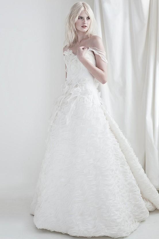 Amiel - Mariana Hardwick's Precious Curiosities 2013 Wedding Dress Collection