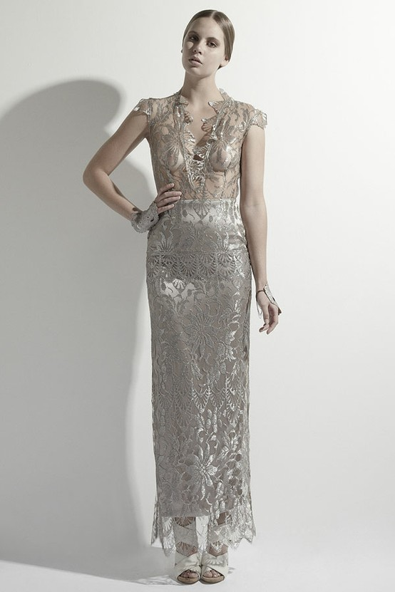 Antiquity Full Length Evening Dress from Mariana Hardwick 2012/2013 Collection