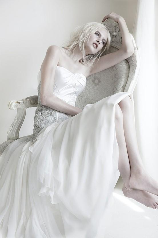 Celeste - Mariana Hardwick's Precious Curiosities 2013 Wedding Dress Collection