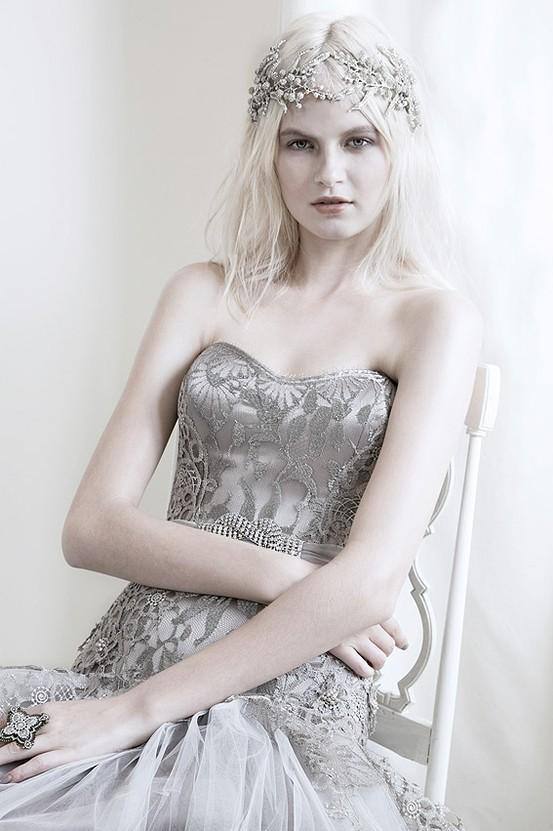 Cleo - Mariana Hardwick's Precious Curiosities 2013 Wedding Dress Collection