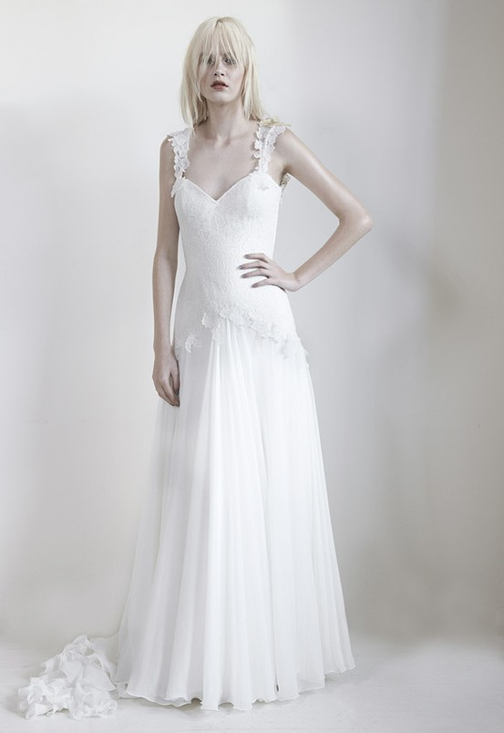 Hallie - Mariana Hardwick's Precious Curiosities 2013 Wedding Dress Collection
