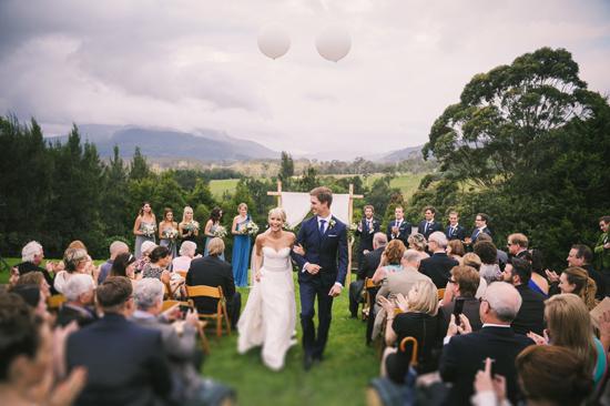 Beautiful Kangaroo Valley Wedding on Polka Dot Bride