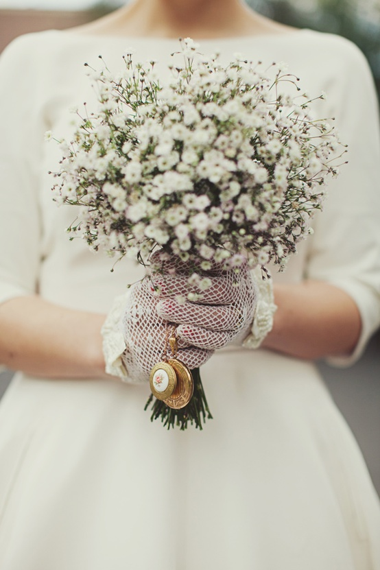 25 Beautiful Vintage Inspired Bridal Bouquets Chic
