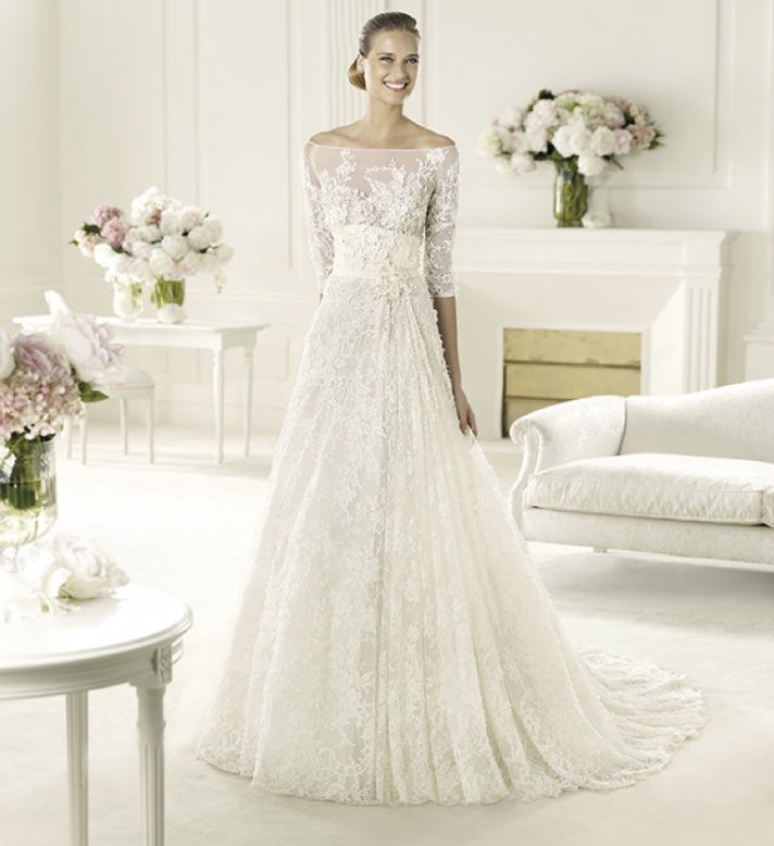 Elie Saab's 2013 Collection for Pronovias - Folie Wedding Dress