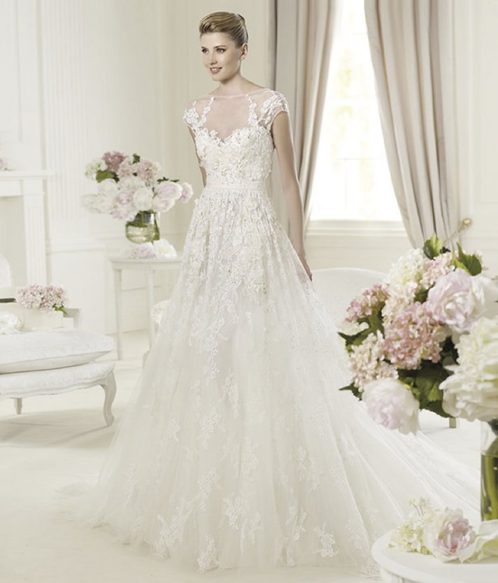 Elie Saab's 2013 Collection for Pronovias - Monceau Wedding Dress