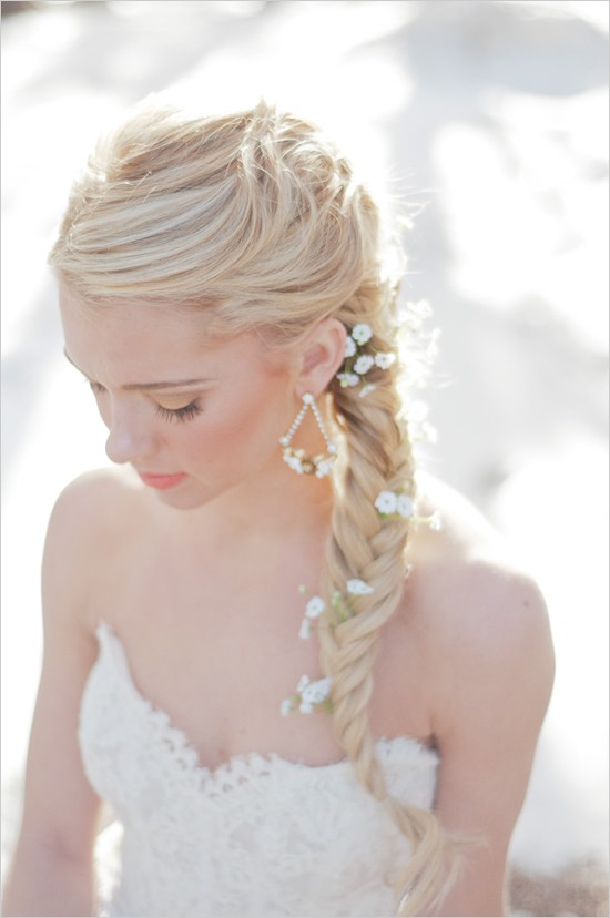 Wondrous 25 Of The Most Beautiful Braided Bridal Updos Chic Vintage Brides Short Hairstyles Gunalazisus