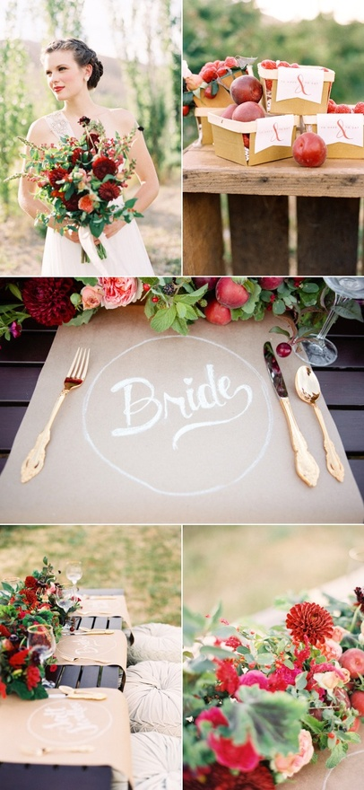 Berry Farm Wedding Inspiration Shoot from Style Me Pretty